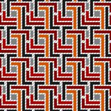 Seamless Geometric Pattern 01 Stock Image