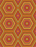 Seamless geometric pattern Stock Photo