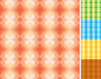 Seamless geometric pattern. Full seamless geometric pattern. 5 swatch pattern included in additional EPS (Ai) file (on the swatch panel&#x29 royalty free illustration