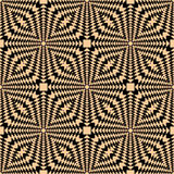 Seamless geometric pattern. Royalty Free Stock Photos