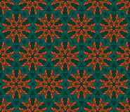 Seamless geometric  pattern Royalty Free Stock Photography