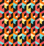 Seamless Geometric Pattern Royalty Free Stock Images
