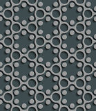 040. Seamless Geometric Pattern. Abstract Gray Background. Vector Regular Texture Royalty Free Illustration