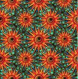 Seamless geometric pattern. Seamless abstract sunny geometric pattern Vector Illustration