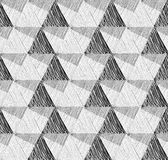 Seamless geometric pattern. Abstract textured background royalty free illustration