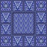 Seamless geometric pattern 32 Stock Image