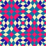 Seamless geometric pattern background Stock Photography