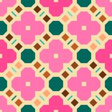 Seamless geometric pattern background Royalty Free Stock Photo