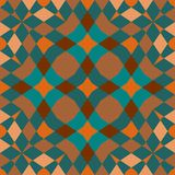 Seamless geometric pattern background Stock Images