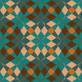 Seamless geometric pattern background Royalty Free Stock Photos