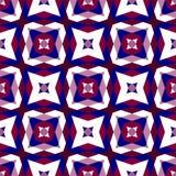 Seamless geometric pattern background Stock Photography