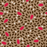 Seamless geometric pattern background Stock Photos