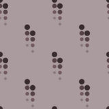 Seamless geometric pattern of beads. Royalty Free Stock Image