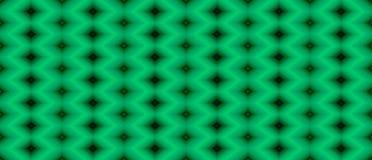Seamless geometric pattern of black diamonds on a green backgrou vector illustration