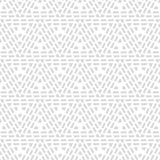 Seamless geometric pattern. Black and white texture. Drawn triangles. Drops texture. Brushwork. Scribble texture. Textile rapport Stock Photos
