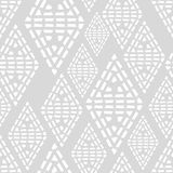 Seamless geometric pattern. Black and white texture. Drawn triangles. Drops texture. Brushwork. Scribble texture. Textile rapport Royalty Free Stock Image