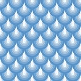 Seamless geometric pattern blue fishskin Royalty Free Stock Image