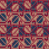 Seamless geometric pattern in the boho style. Slavonic motif. Traditional national motives of the Slavic peoples. Royalty Free Stock Photo