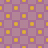 Seamless geometric pattern in the cell Royalty Free Stock Images