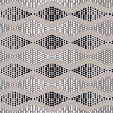 Seamless geometric pattern with circles Royalty Free Stock Image