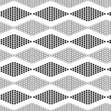 Seamless geometric pattern with circles Royalty Free Stock Photo