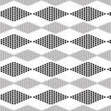 Seamless geometric pattern with circles Stock Image