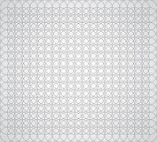 Seamless geometric pattern of circles on a white background. Vector stock illustration