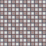 Seamless geometric pattern with color squares Stock Images