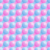 Seamless geometric pattern of colored circles. Vector. Illustration Royalty Free Stock Photo