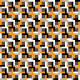 Seamless geometric pattern. Stock Photo