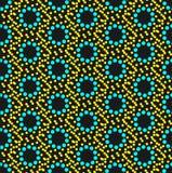 Seamless geometric pattern. Colorful dots seamless geometric pattern Vector Illustration