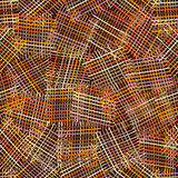 Seamless geometric pattern with colorful intersection lines Stock Images