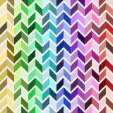 Seamless geometric pattern, colorful mosaic Stock Photography