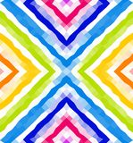 Seamless geometric pattern. Colorful polygonal mosaic background. Wallpaper royalty free illustration