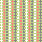 seamless geometric pattern. With colorful rombs. EPS Royalty Free Stock Images