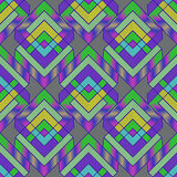 Seamless geometric pattern. Seamless pattern composed of rhombuses vector illustration