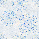 Seamless geometric pattern. With connected lines and dots. Vector illustration royalty free illustration