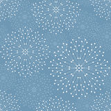 Seamless geometric pattern. With connected lines and dots. Vector illustration Royalty Free Stock Photography
