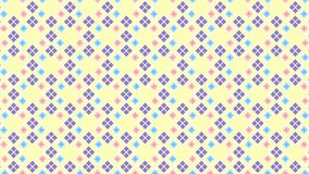 Seamless Geometric Pattern Of Cute Colors vector illustration