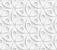 Seamless Geometric Pattern. 3d Vector Seamless Geometric Pattern Royalty Free Illustration