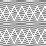 Seamless geometric pattern, diamond, zigzag Stock Photos