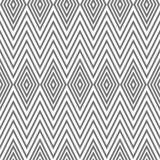 Seamless geometric pattern, diamond, zigzag Royalty Free Stock Image