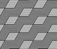 Seamless geometric pattern. Stock Photo