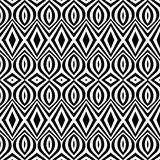Seamless geometric pattern in ethnic style Royalty Free Stock Image