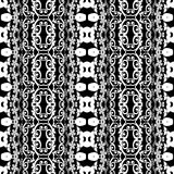 Seamless geometric pattern in ethnic style Stock Photography