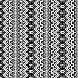 Seamless geometric pattern in ethnic style Stock Images