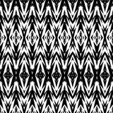 Seamless geometric pattern in ethnic style Stock Image
