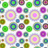 Seamless geometric pattern extended Royalty Free Stock Photos