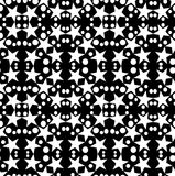 Seamless geometric pattern with a five-pointed stars and circles. Digital computer graphic - seamless geometric pattern with a five-pointed stars and circles in royalty free illustration