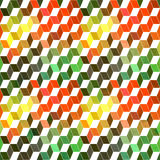 Seamless geometric pattern with geometric shapes, rhombus, color Royalty Free Stock Photo